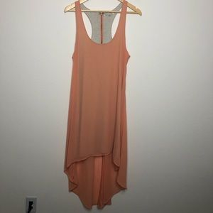 UO Lucca Couture Racerback Chiffon High/Low Dress